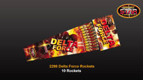 DELTA FORCE ROCKET 10 PACK NOW £5.00